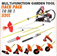 52CC Back-pack grass Cutter Hedge Trimmer 4 in 1
