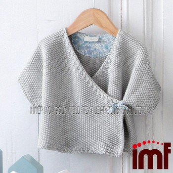 Free Knitting & Crochet Pattern Modern Vintage Smocked Baby Sweater Cardi...