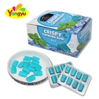 Wholesale Xylitol Strong Mint Crispy Chewing Gum