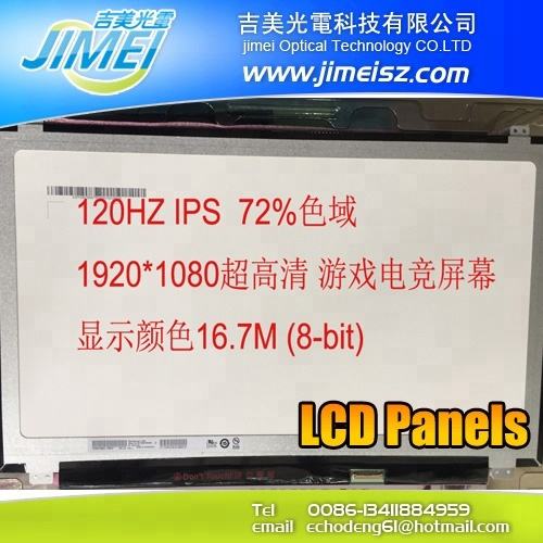 15.6 120HZ IPS LED Screen Panel EDP 1920*1080FHD 72/%NTSC N156HCE-GA2 B156HAN04.2