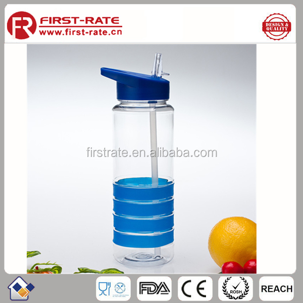750ML Portable Tritan empty joyshaker bottle <strong>water</strong> with straw