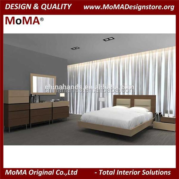 Ma-165c Muebles De Dormitorio Moderno Suave Upholsted Alta Cabecera ...