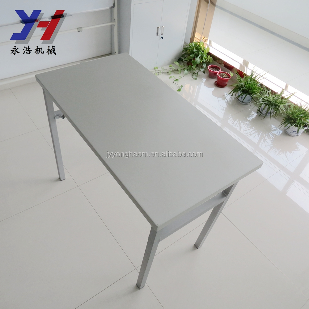 OEM Custom 6063 aluminum table parallel bars reinforcement compact folding table