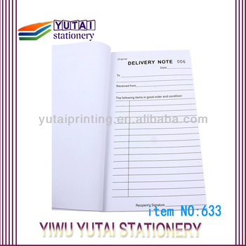 Yiwu China Sample Delivery Order Form Samples  Buy Sales Order