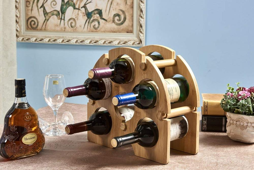 Bamboo-Wine-Bottle-Holder-Free-Standing-Wine