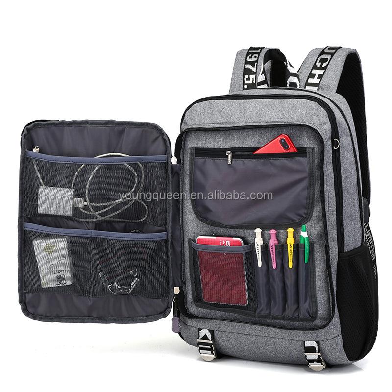 253c66de33396 ZW603 usb ثانوي طالب حقيبة سفر الرجال الموسيقية حقيبة سعة كبيرة ...