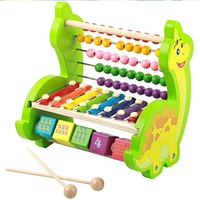 Baby Educational Toys Kids Wood Block Musical Instrument Wooden Chinese Xylophone Children Toys