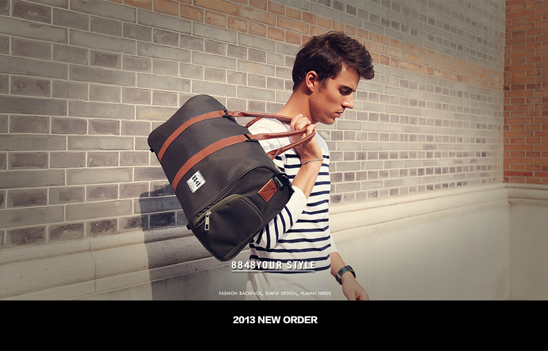 Backpack 8848 Bana: 8848 Classical Fashion Style Camouflage Women Hand Bag Men