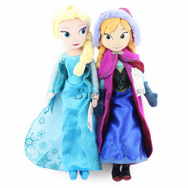 Hard-Working Disney Princess 50 Cm Anna Frozen Plush Cuddly Toy Girls New No Tags Elsa Film C Dolls & Bears Dolls, Clothing & Accessories
