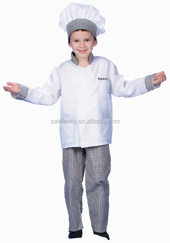 white color kids gourmet chef costume cosplay costumes QBC-8739  sc 1 st  Alibaba & White Color Kids Gourmet Chef Costume Cosplay Costumes Qbc-8739 ...