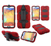 Military duty protector case for Samsung Galaxy Note 3 N9000 with belt clip