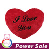 2014 hot sale red plush heart Pillow Floor Cushion