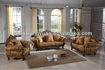Genial Royal Furniture Wooden Fabric Sofa Living Room Furniture