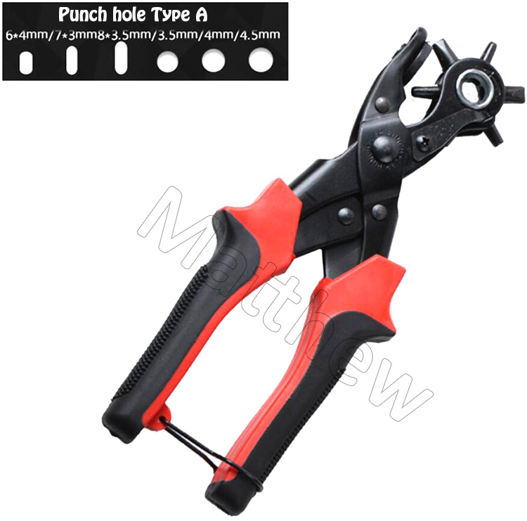 Wholesale Leather Paper Fabric Hole Punch Plier with Anti Skid Handle