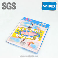 Airline disposable wipers high Quality spunlace nonwoven household dry facial wipes