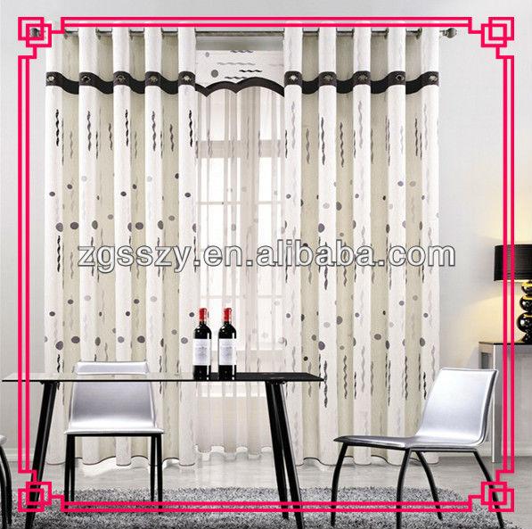 Einfache Vorhang Designs, Fasion Fenster Vorhang-Gardine