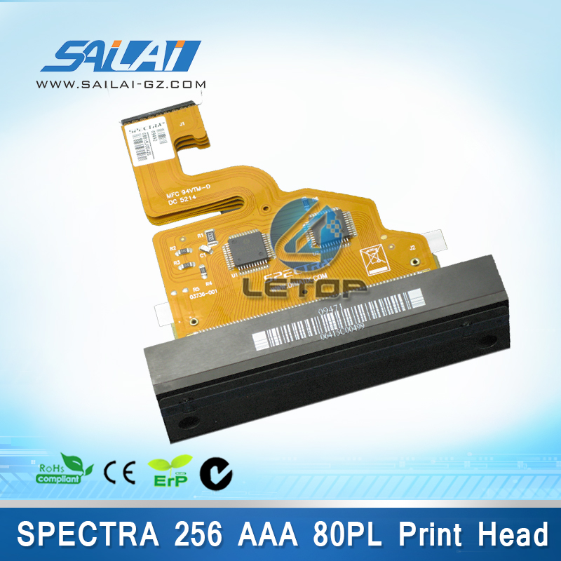 100% Original!!spectra nova 256 printhead for gongzheng printer galaxy JA256 80PL AAA