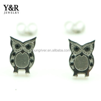 Hot Selling Owl Animal Top Design Earring