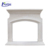 Chinese natural freestanding marble fireplace mantel for sale NTMFI-072Y