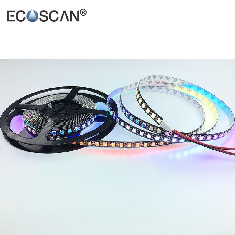 96Pixels/m Programmable LED Strip Light WS2812B WS2811 5050 RGB Individual Addressable Digital Dream Color Flex LED Strip