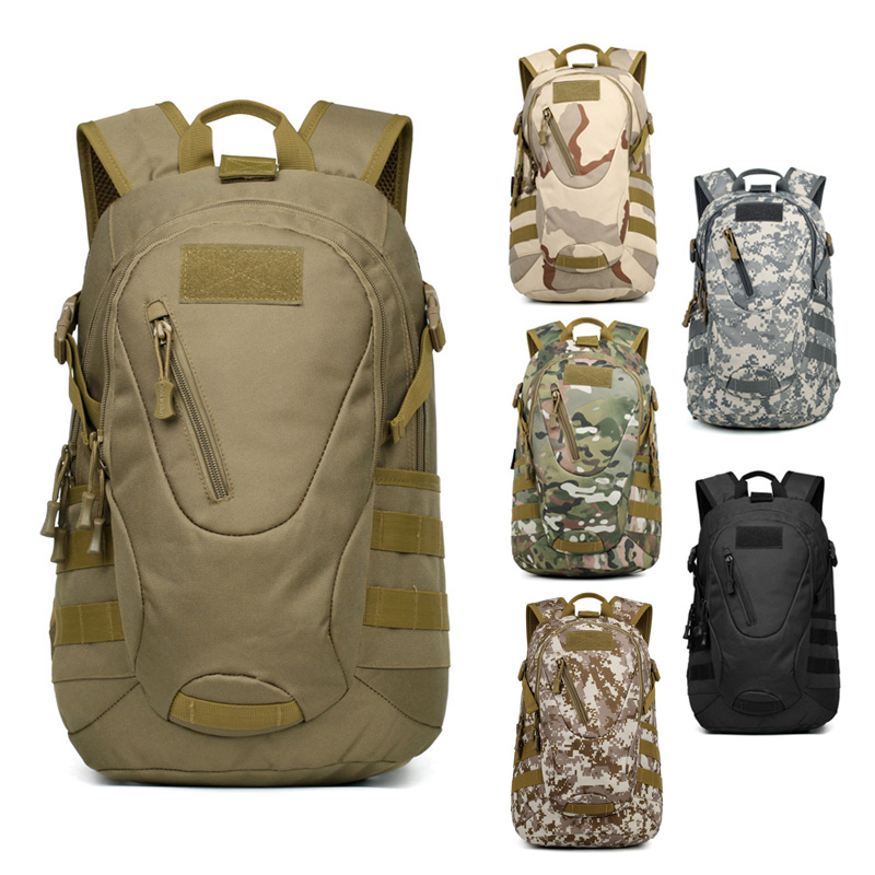 Waterproof Outdoor Camping Mens Military Backpack Bags