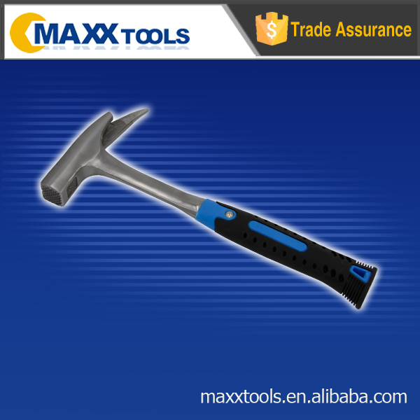 Roofing hammer, stem framing hammer in soft grip hammer