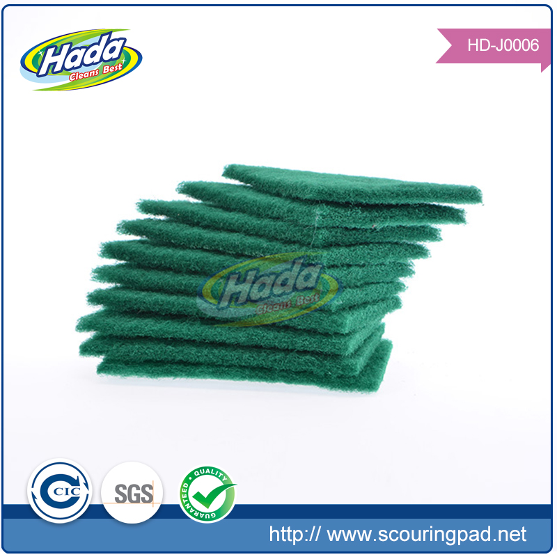 Thicken skin friendly soft and green one scouring pad