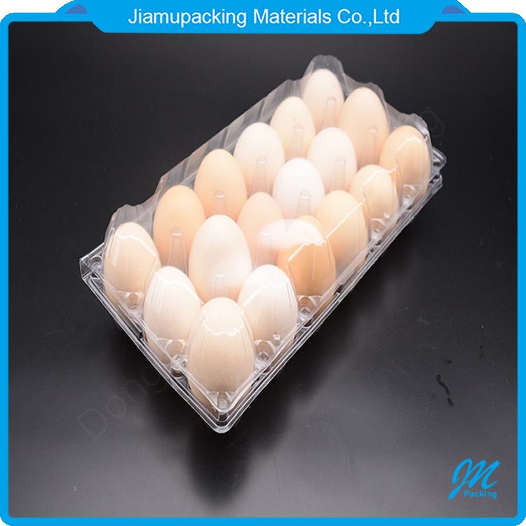 Оптовая продажа 18 отверстий пластиковый лоток для яиц блистерная упаковочная коробка