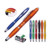 Stylus original reasonable price light ball pen with customer's slogan for students gifts