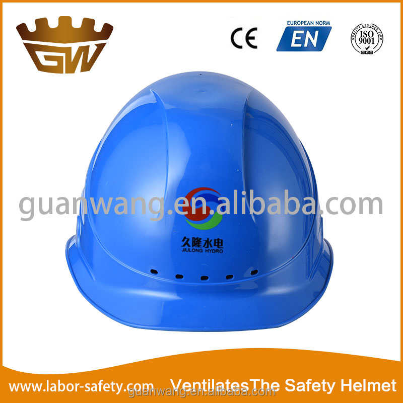 With a vent hole safety helmet