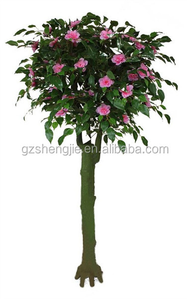 decorative lighted trees and flowers,artificial pink flower tree