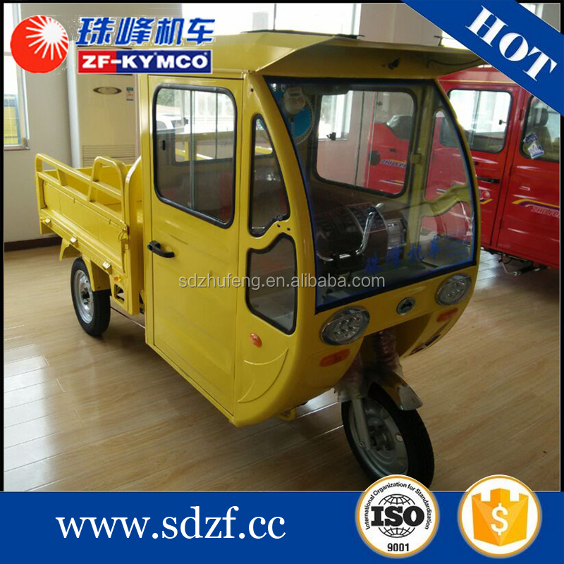 Durable electric trike tuk tuk cargo