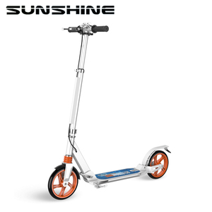 Adult use folding space stunt kick scooter street legal