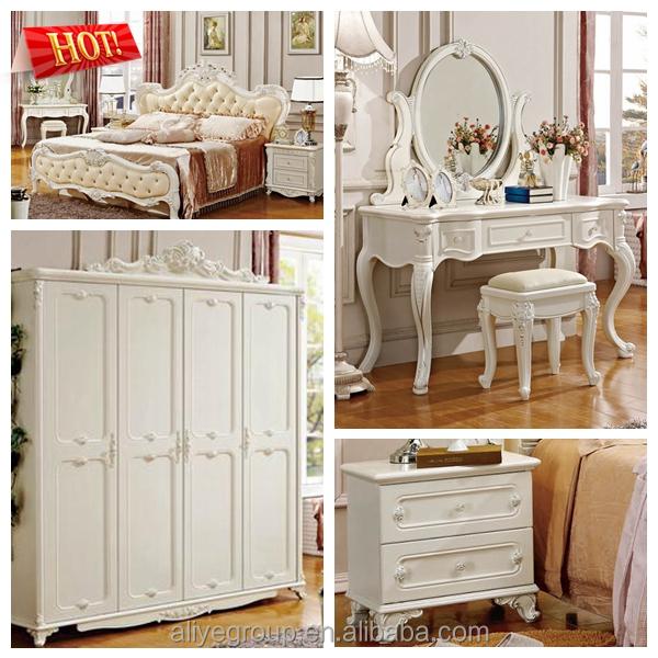 Venta al por mayor camas de madera talladas lujo precio-Compre ...