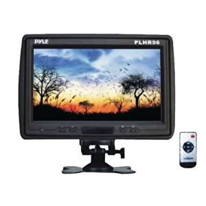"Pyle 9 Tft Lcd Cut-In Headrest Monitor With Ir Transmitter, Stand & Shroud ""Product Type: Mobile Video/Video Monitors"""