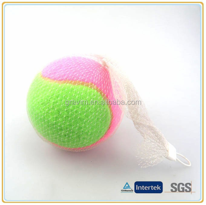 Personalized custom serious size and colors pet toys tennis ball