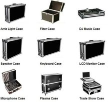 Customized 12u aluminum flight case double-deck without/with door