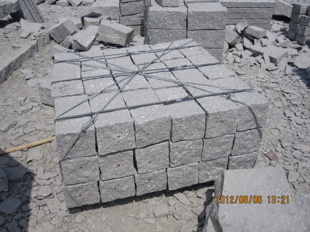 Detail Stone Slabs : Wholesale grey granite paving slabs patio stone for sale