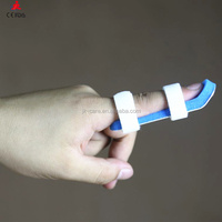 Aluminum Fold-over metal finger fracture splint in first-aid devices