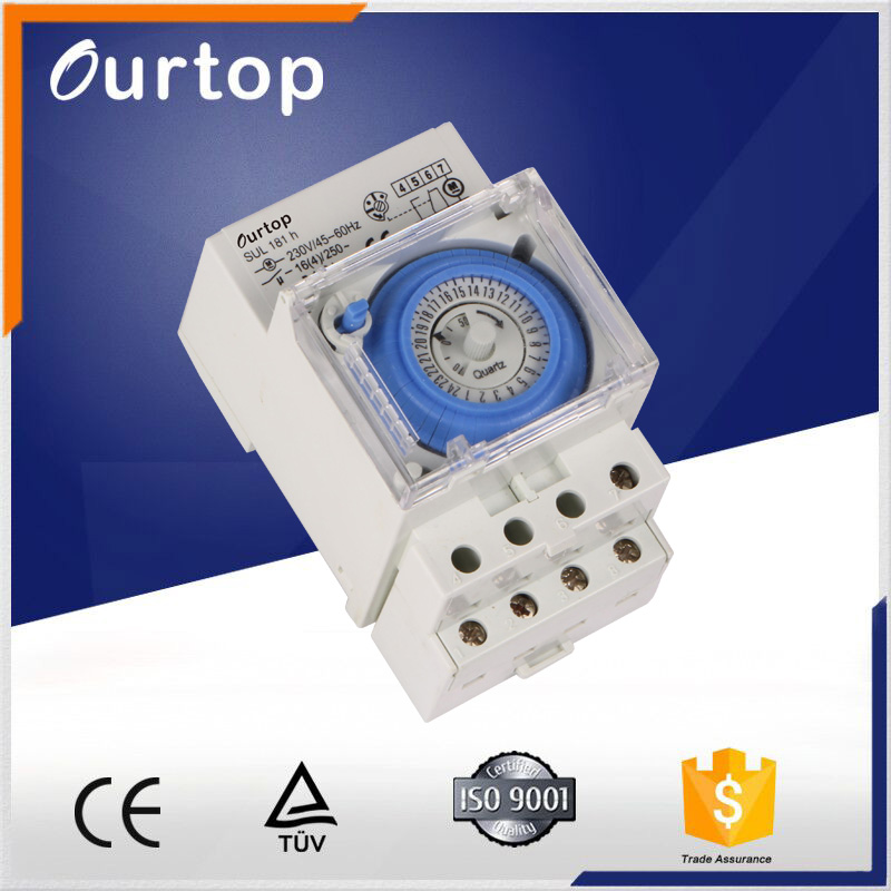 240v timer daily mechanical time switch model SUL181h