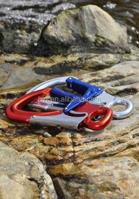 Aluminum Double Gate Locking Snap Hook/Double Action Safety hook B051