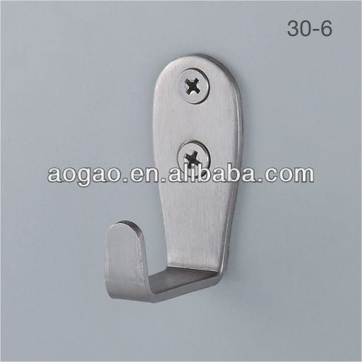 toilet cubicle partition coat hook