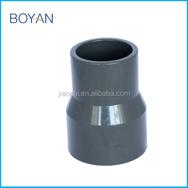 Good quality CN supply pipe fitting UPVC ASTM80 REDUCER COUPLING