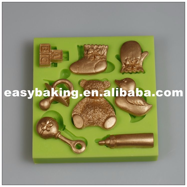 es-8417_Duck Bottle Cake Decorating Baby Series Silicone Fondant Mould_9657.jpg