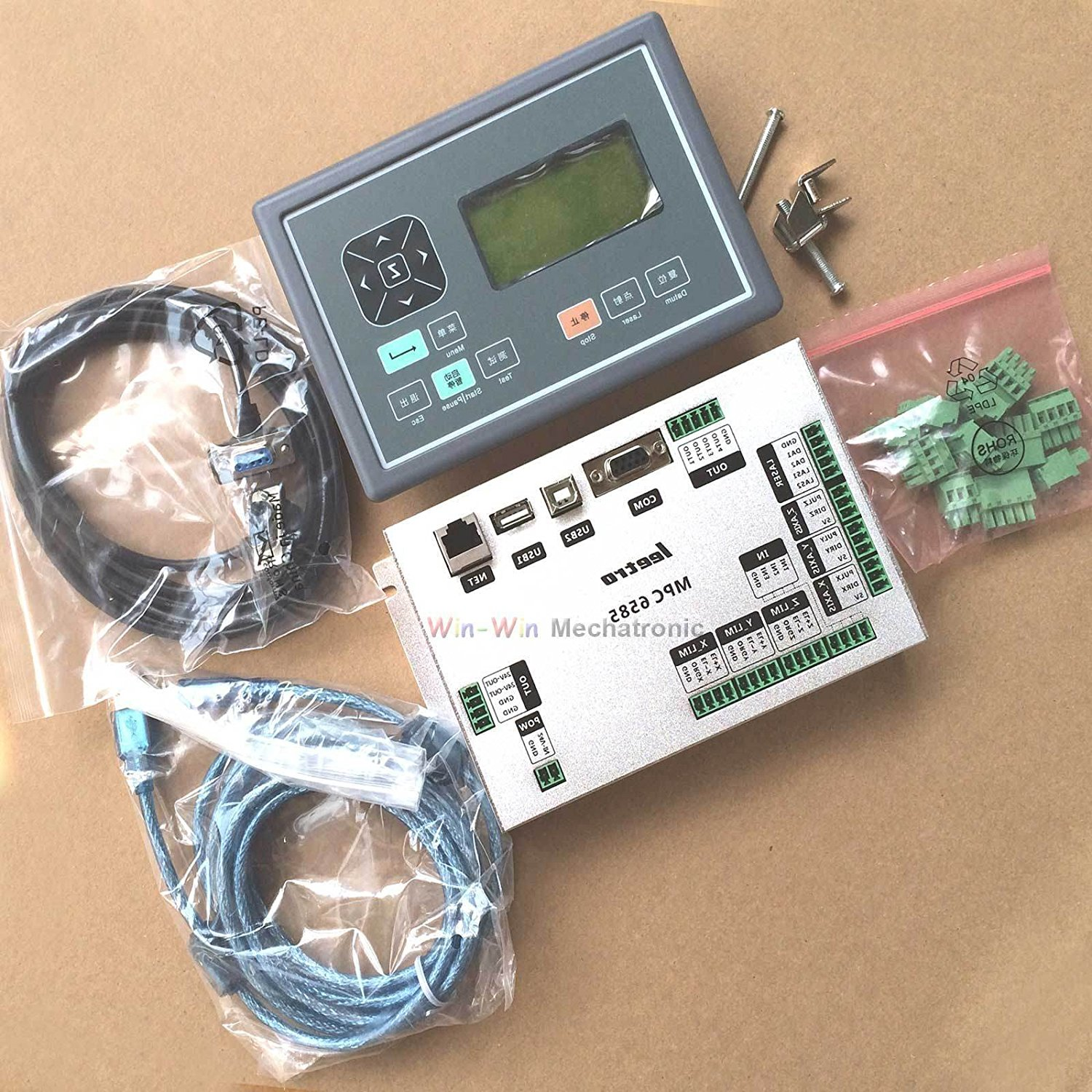 2015 Upgraded CO2 Laser Motion Control System MPC6585 based on MPC6515 & MPC6535