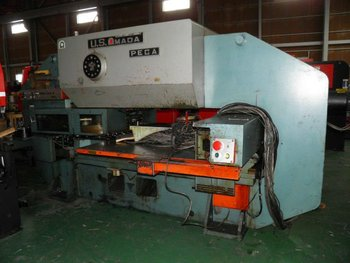 Turret Punching Machine - Amada Pega-344