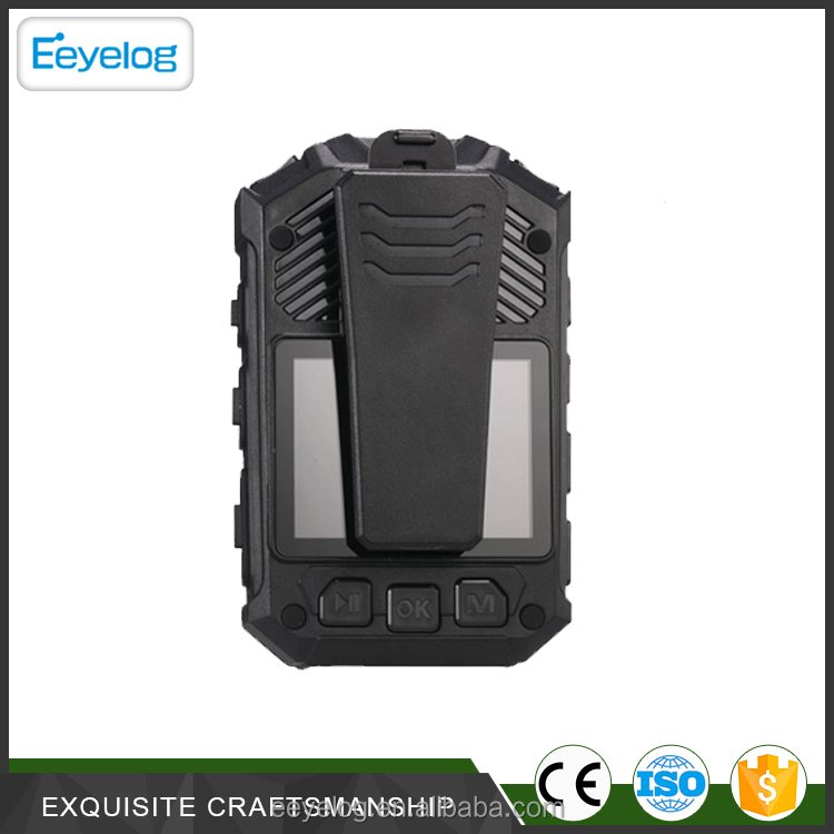 2.0 Inch LCD Screen Build-in GPS Body Camera Security for policeman
