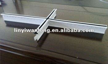 Gypsum Ceiling Board Accessories Tiles Grids Coated With Pvc