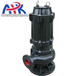 high volume low pressure submersible water slurry pump (waste water)