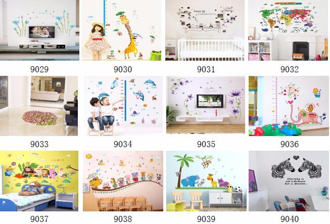 Bedroom Decor Stickers removable transparent room decor 5d wall stickers - buy room decor